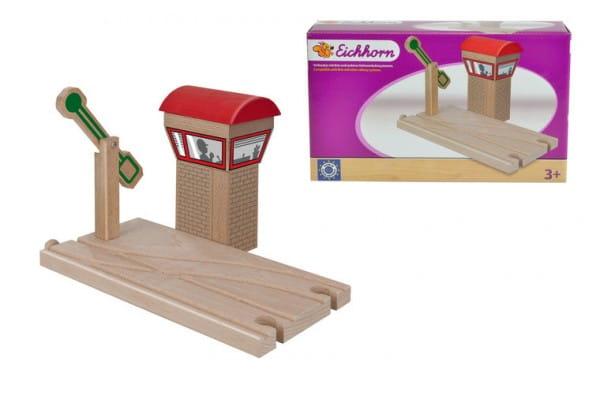 Купить Игровой набор Eichhorn Пропускной пункт - 5 деталей в интернет магазине игрушек и детских товаров