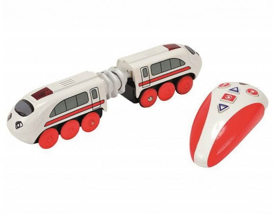 Купить Скоростной поезд Eichhorn с пультом управления - 20,5 см в интернет магазине игрушек и детских товаров