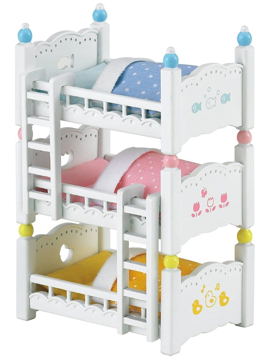 Игровой набор Sylvanian Families 2919 Трехъярусная кровать