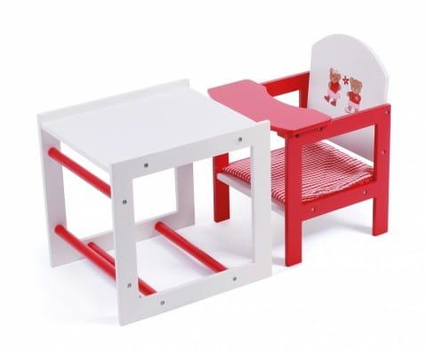 Купить Высокий стул-трансформер для куклы Chic Buyer 2000 Teddy Bears в интернет магазине игрушек и детских товаров