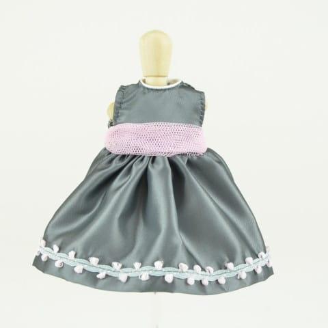 Одежда для кукол Asi Платье серое - 30 см