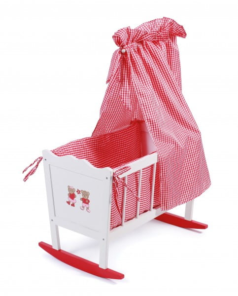 Купить Кроватка для куклы с балдахином Chic Buyer 2000 Teddy Bears в интернет магазине игрушек и детских товаров