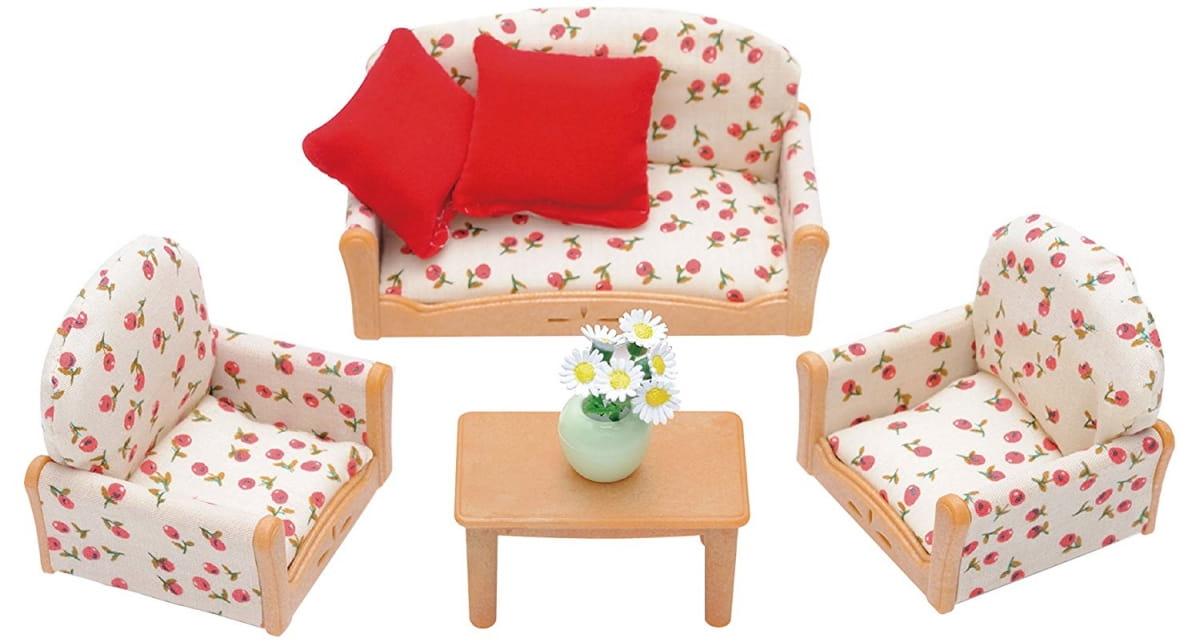 Игровой набор Sylvanian Families 2922S Мягкая мебель для гостиной