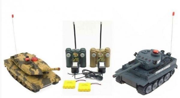 Купить Радиоуправляемый танковый бой Abtoys в интернет магазине игрушек и детских товаров