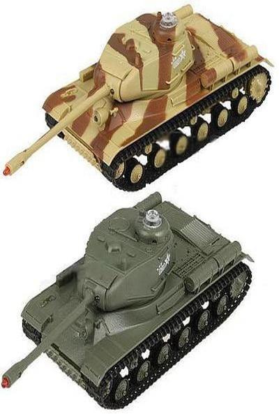 Радиоуправляемый танковый бой Abtoys 2 танка