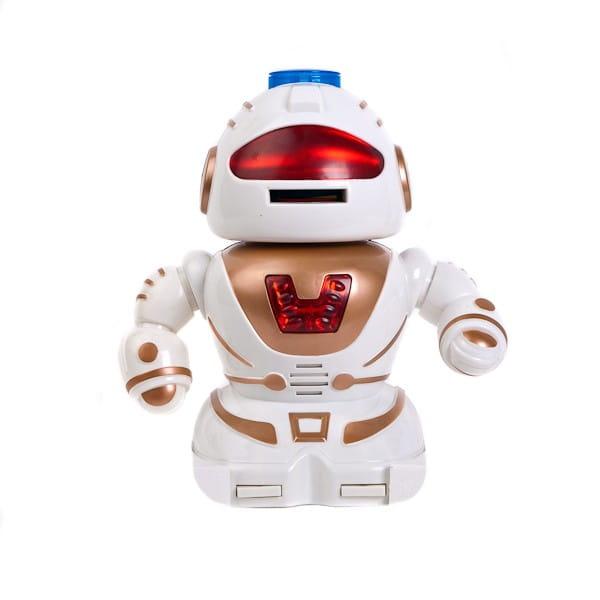 Радиоуправляемый робот Abtoys - 28 см (белый)