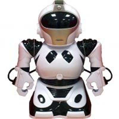 Радиоуправляемый робот Abtoys - 22 см (белый)