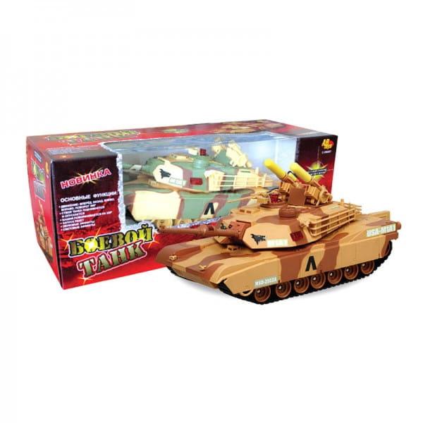 Купить Радиоуправляемый танк Abtoys с ракетной установкой на башне в интернет магазине игрушек и детских товаров