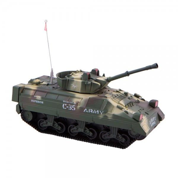 Купить Радиоуправляемый танк-амфибия Abtoys 4-х канальный в интернет магазине игрушек и детских товаров