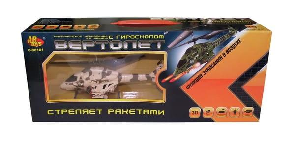 Купить Радиоуправляемый вертолет на инфракрасном управлении Abtoys в интернет магазине игрушек и детских товаров