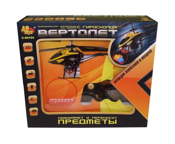 Купить Радиоуправляемый вертолет Abtoys с корзинкой в интернет магазине игрушек и детских товаров