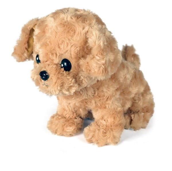 Купить Интерактивная игрушка Abtoys Щенок Умняша вислоухий - светло-коричневый в интернет магазине игрушек и детских товаров