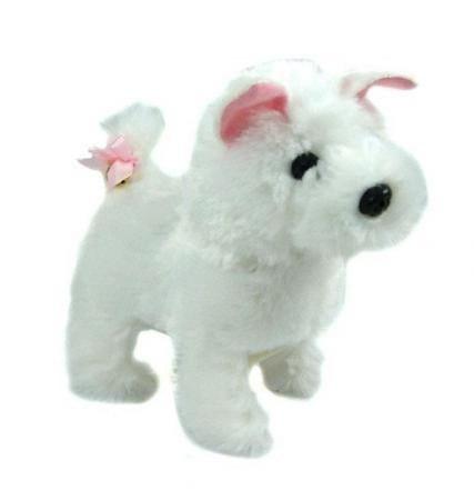 Купить Интерактивная игрушка Abtoys Щенок Умняша терьер - белый в интернет магазине игрушек и детских товаров