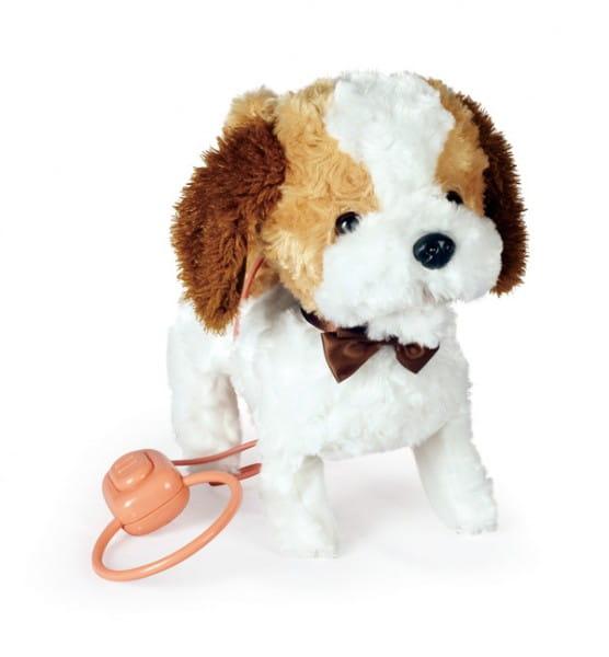 Купить Интерактивная игрушка Abtoys Щенок Умняша - бело-палевый в интернет магазине игрушек и детских товаров