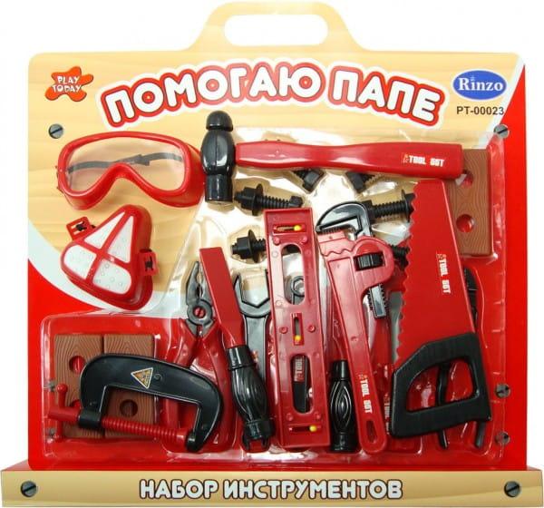 Набор инструментов Abtoys Помогаю папе - 15 предметов