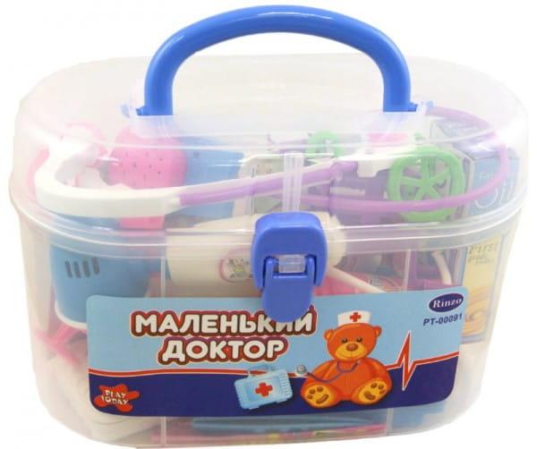 Купить Набор доктора Abtoys Маленький доктор - 23 предмета в интернет магазине игрушек и детских товаров