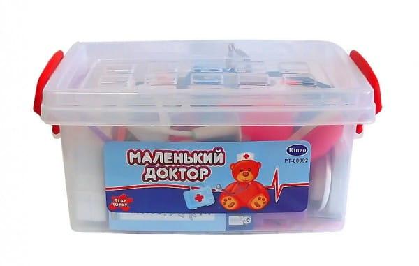 Купить Набор доктора ABtoys Маленький доктор - 26 предметов в интернет магазине игрушек и детских товаров