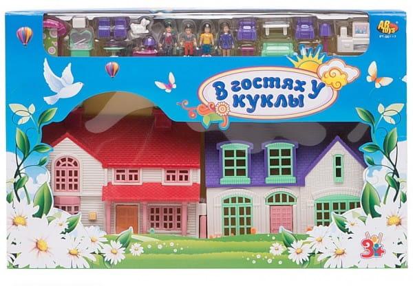 Кукольный домик Abtoys В гостях у куклы