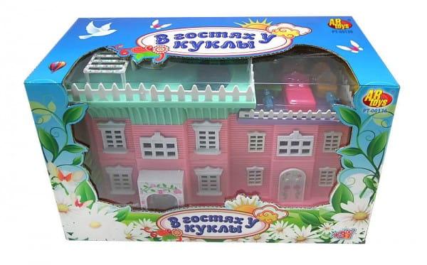 Кукольный домик Abtoys В гостях у куклы - 30 см