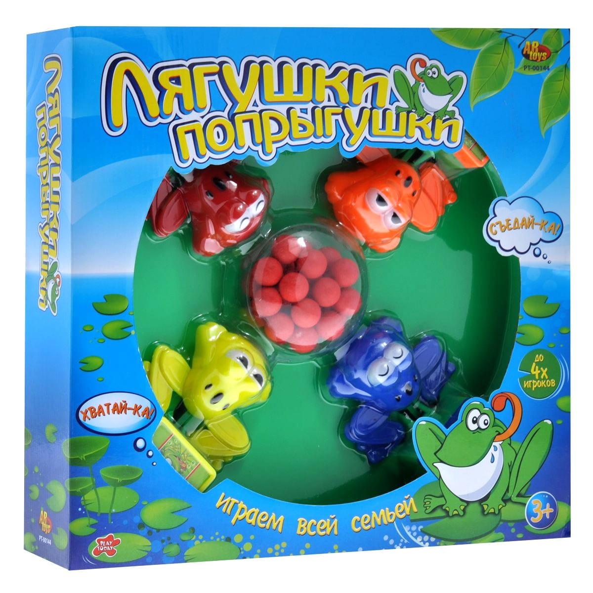 Настольная игра Abtoys Лягушки-попрыгушки