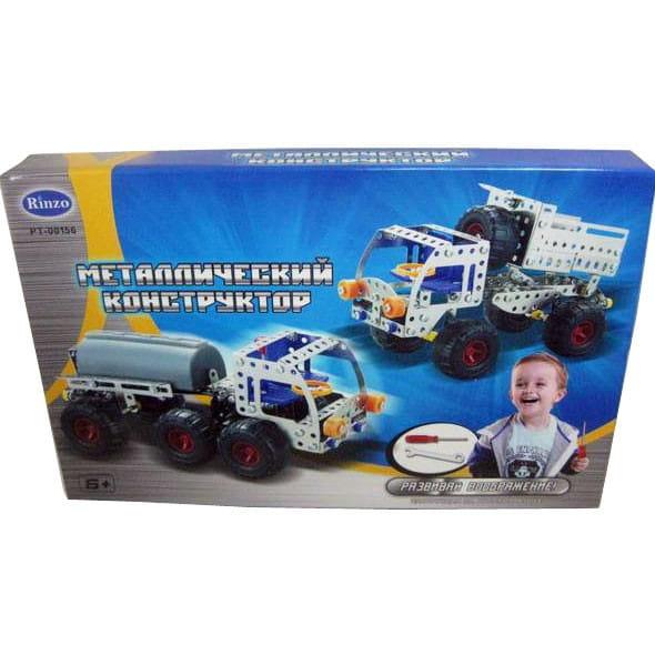 Купить Металлический конструктор Abtoys Грузовик - 224 детали в интернет магазине игрушек и детских товаров