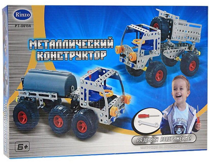 Металлический конструктор Abtoys Грузовик - 224 детали