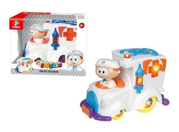 Купить Скорая помощь Abtoys Глазастики в интернет магазине игрушек и детских товаров