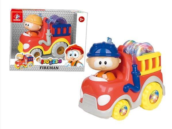 Купить Пожарная машинка Abtoys Глазастики в интернет магазине игрушек и детских товаров