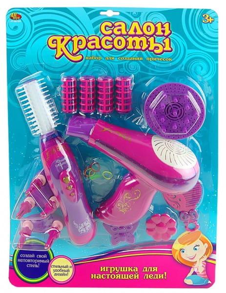 Купить Салон красоты Abtoys Завивка волос и фен в интернет магазине игрушек и детских товаров