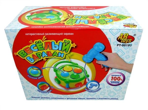 Развивающая игрушка Abtoys Барабан