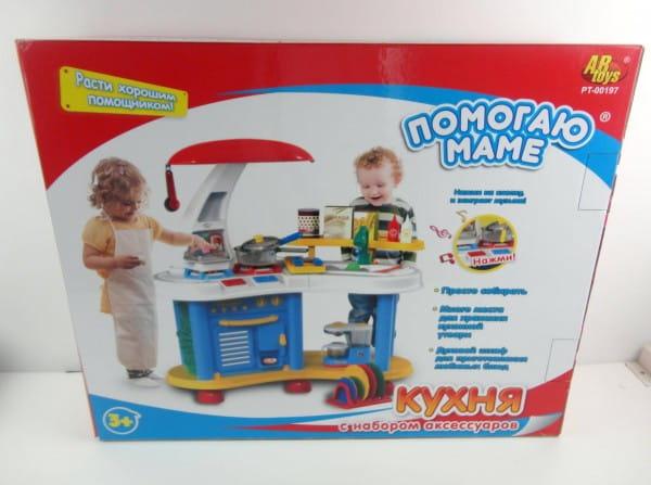 Купить Кухня Abtoys Помогаю маме (со звуковыми эффектами) в интернет магазине игрушек и детских товаров