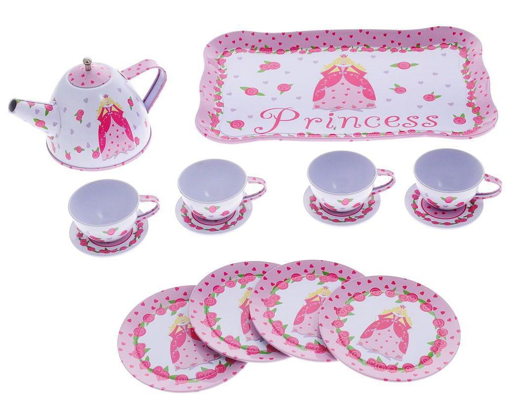 Набор посуды для чаепития Abtoys Помогаю маме - 14 аксессуаров