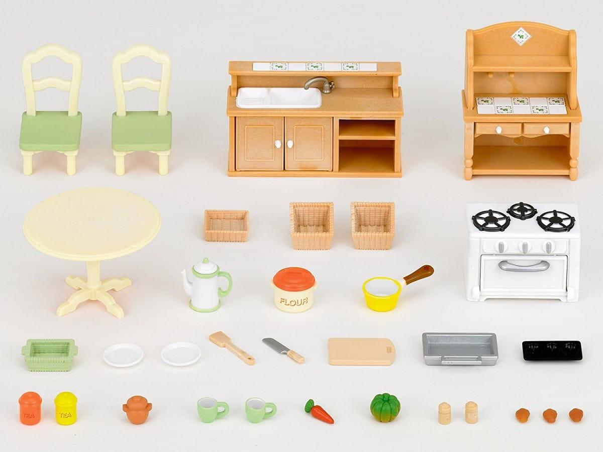 Игровой набор Sylvanian Families Кухня в коттедже