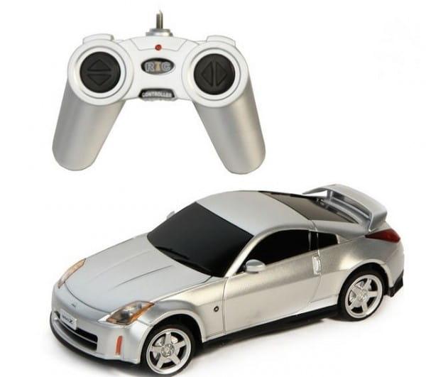 Купить Радиоуправляемая машина Rastar Nissan 350Z 1:24 в интернет магазине игрушек и детских товаров