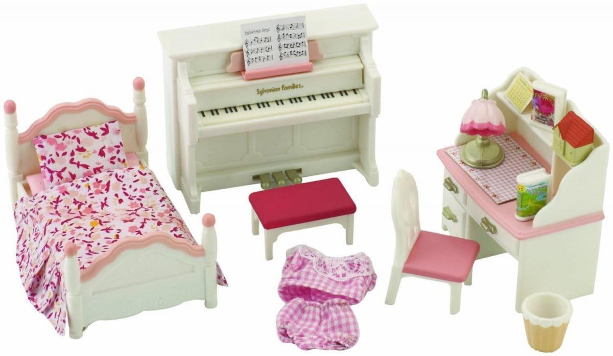 Игровой набор Sylvanian Families 2953 Детская комната (бело-розовая)