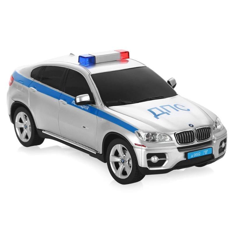 Радиоуправляемая машина Rastar 31700-1 BMW X6 полицейская 1:24