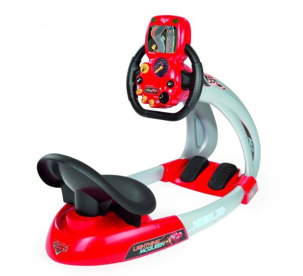 Купить Автотренажер руль Smoby Тачки в интернет магазине игрушек и детских товаров
