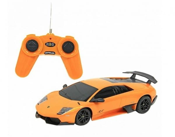 Купить Металлическая машинка Rastar Lamborghini Murcielago LP670-4 1:24 в интернет магазине игрушек и детских товаров