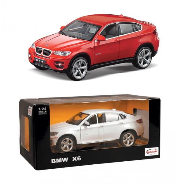 Металлическая машинка Rastar BMW X6 1:24