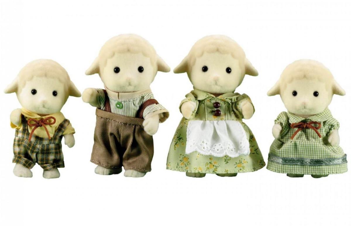 Игровой набор Sylvanian Families 3113 Семья овечек