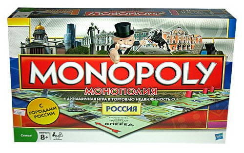 Настольная игра Hasbro Монополия Россия