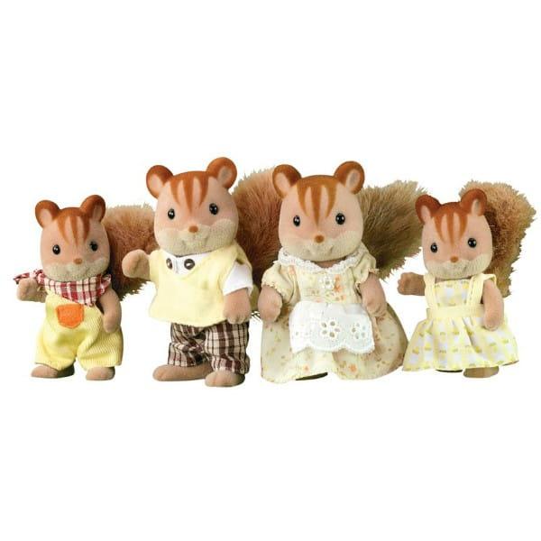 Купить Игровой набор Sylvanian Families Семья белок в интернет магазине игрушек и детских товаров