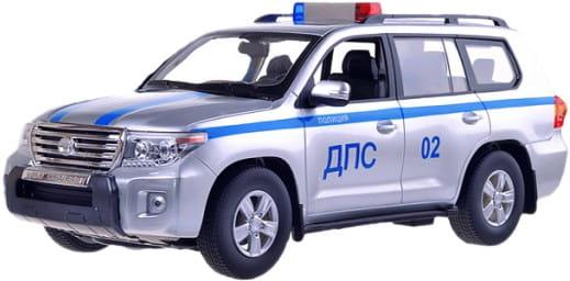 Радиоуправляемая машина Rastar Toyota Land Cruiser 1:16 (серебристый)