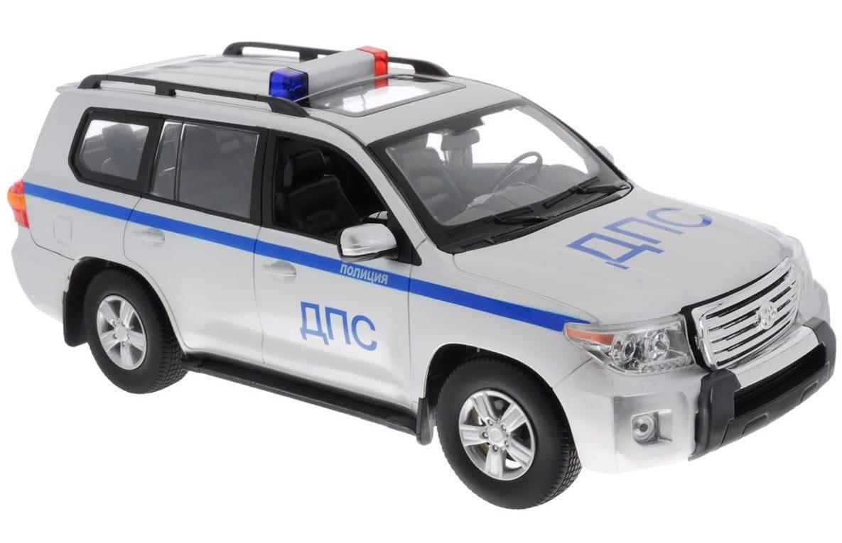 Радиоуправляемая машина Rastar 50200-51 Toyota Land Cruiser 1:16 (серебристый)