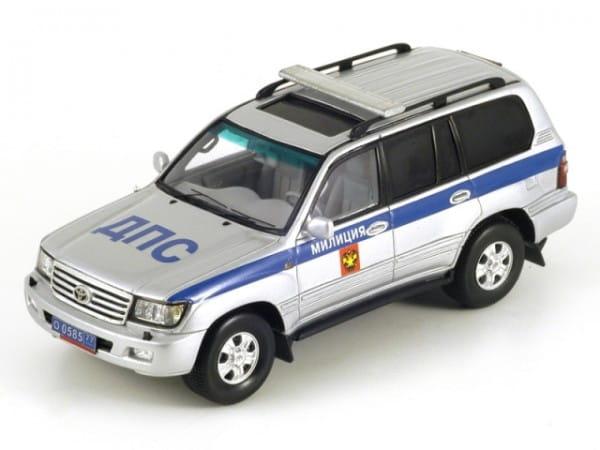 Радиоуправляемая машина Rastar 1:16 Toyota Land Cruiser1:16 (серебристый)