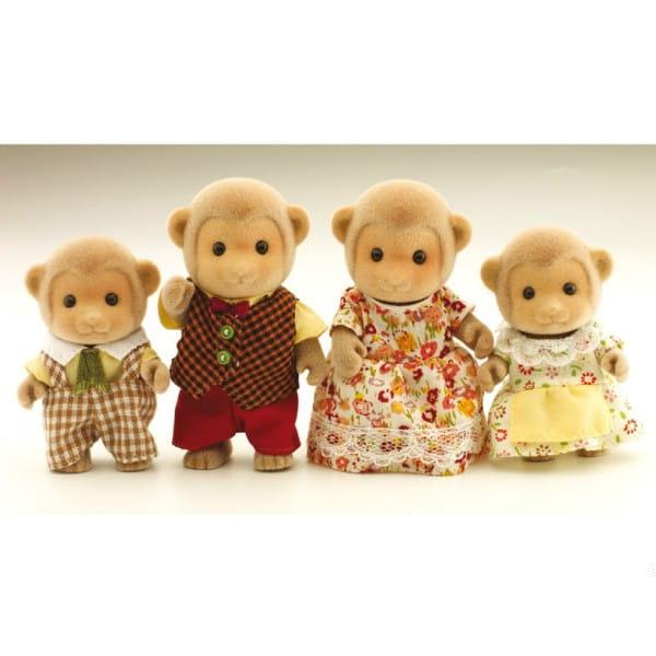 Купить Игровой набор Sylvanian Families Семья обезьянок в интернет магазине игрушек и детских товаров