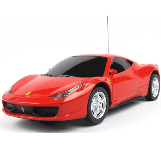 Купить Радиоуправляемая машина Rastar Ferrari 458 Italia 1:32 в интернет магазине игрушек и детских товаров