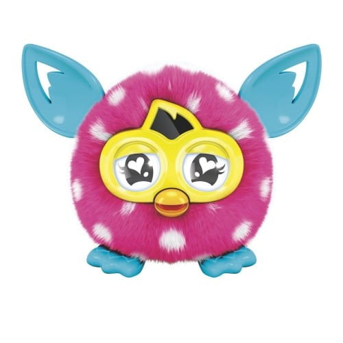 Купить Интерактивная игрушка Furby Furblings Ферблинг Белый горошек (Hasbro) в интернет магазине игрушек и детских товаров
