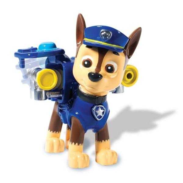 Фигурка Paw Patrol Щенячий патруль Гонщик с рюкзаком-трансформером
