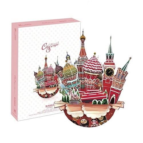 Объемный 3D пазл CubicFun Городской пейзаж - Москва